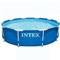 Comparateur de prix Intex Metal Fram Junior - Piscine tubulaire ronde - D. 3,05 m x H. 76 cm