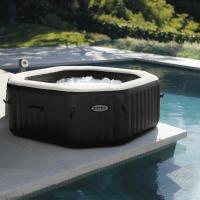 comparateur de prix Pure spa 4 places octogonal - bulles, jets, écostérilisateur