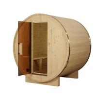 Comparateur de prix Sauna tonneau ext 2/4 pers en pin 1500x1828x1914 ep 38,5 mm