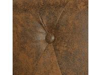 Comparateur de prix Vidaxl canapé chesterfield 2 places cuir artificiel marron 243619