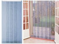 Comparateur de prix Rideau de porte moustiquaire Arles - 4 bandes - 100x220 cm