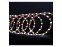 Guirlande Tube lumineux 6 mètres Ampoules LED Multicolores et 8 jeux de lumière