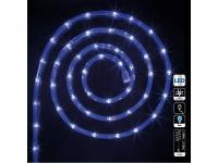 Guirlande tube led d'extérieur - 24 m. - bleu