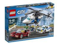 comparateur de prix LEGO® City 60138 La course-poursuite en hélicoptère