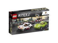 Comparer les prix du Lego Lego 75888 porsche 911 rsr et 911 turbo 3.0, lego? Speed champions