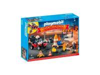 Comparateur de prix Calendrier de l'avent pompiers - 9486 - Playmobil