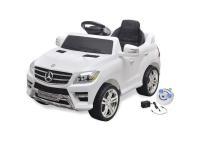 Comparateur de prix Vidaxl Voiture électrique pour enfants Mercedes Benz Ml350 Blanc 6 V