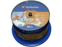 Verbatim 43533 DVD vierge 4,7 Go DVD-R 50 pièce(s)