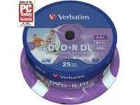Verbatim DVD+R DL 8,5 Go, Support vierge DVD