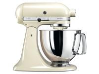 Comparer les prix du Kitchenaid 5KSM125EAC Artisan Robot pâtissier Creme 4.8 L 300 W