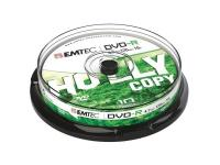 Pack de 10 DVD-R 4.7 GB 16x Speed EMTEC