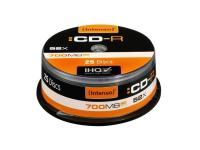 Comparateur de prix Cd R Intenso 700mo 80mn - Lot De 25