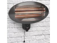 Comparateur de prix Chauffage de terrasse Tristar KA-5286, radiant infrarouge quartz 2000 W, installation murale