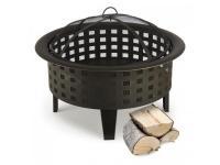 Brasero Blumfeldt Boston braséro jardin chauffage exterieur barbecue ø 70 cm acier - noi