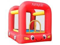Château Gonflable 2m10 pour Enfants - Aire de jeux, rebonds, trampoline - Jumpy Car - Surface 210x205x200 cm - souffleur et sac de