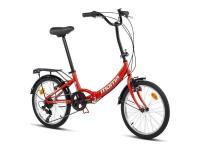Comparateur de prix Moma Bikes First Class II Red Vélo Pliant Adulte Unisexe, Rouge, Unic Size