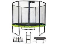 Comparateur de prix Trampoline 305 cm + filet + échelle + bâche + kit d'ancrage PUNCHI Vert - Vert - KANGUI