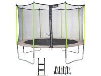 Comparateur de prix Kangui Trampoline de jardin 365 cm + filet de sécurité + échelle + kit d'ancrage Jumpi Zen 360
