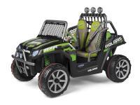 Comparateur de prix Voiture 2 places Peg Perego 24 Volts - Polaris Ranger RZR Green Shadow