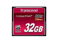 Transcend - carte mémoire flash - 32 Go - CompactFlash