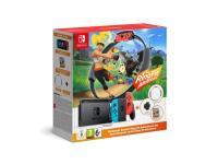 Comparateur de prix Nintendo Switch With Neon Blue And Neon Red Joy-Con - Ring Fit Adventure Set - Console De Jeux - Full Hd - Noir, Rouge Fluo, Bleu Néon