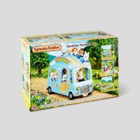 Sylvanian Families - 5317 - Le bus arc-en-ciel des bébés