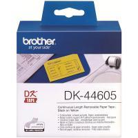 Comparateur de prix Cartouche d'encre Brother Brother brother dk-44605 ruban continu, détachable noir