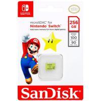 comparateur de prix SanDisk - Carte microSDXC UHS-I 256Go pour Nintendo Switch - Produit sous License Nintendo