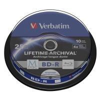 Comparateur de prix Verbatim 10x Blu-ray vierge BD-R 25 Go 4x MDISC