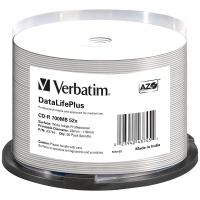 Comparateur de prix Verbatim DataLifePlus - CD-R x 50 - 700 Mo - support de stockage