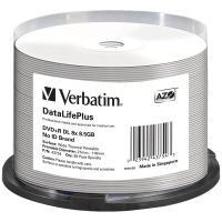 Comparateur de prix Verbatim dvd+r/8xspd 8.5gb wide thermal spdl 50