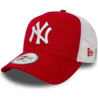 Comparateur de prix Casquette New-Era CASQUETTE CLEAN TRUCKER 2 NEW YORK YANKEES / ROUGE New-Era 5664_8_MP-2950 Rouge Unique