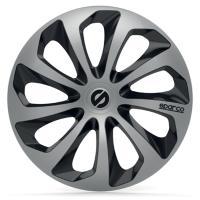 Comparateur de prix SPARCO 4 Enjoliveurs de roues - Sicilia - SPC1673SVBK - 16' -