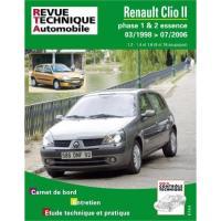 Comparateur de prix Revue Technique Pour Renault Clio 2 Phase 1 Et 2 Essence