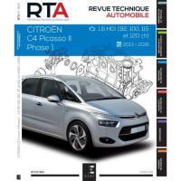 Comparateur de prix E.T.A.I - Revue Technique Automobile 824 - CITROEN C4 PICASSO II - B78 PHASE 1 - 2013 à 2017