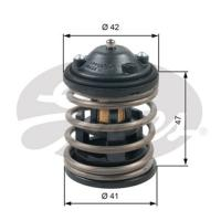 Comparateur de prix GATES Thermostat d'eau BMW Série 1, BMW Série 3, FORD FIESTA, BMW X1, BMW X3 (TH47487G1)