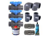 Kit by-pass pour pompe à chaleur HeaterMax Inverter - Ubbink