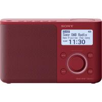 comparateur de prix Radio portable digitale Sony XDR-S61D DAB/DAB+/FM Rouge