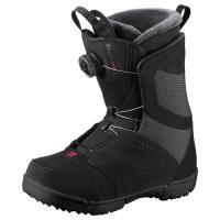 Comparateur de prix Boots Snowboard - SALOMON - Pearl Boa - Noir 25.5