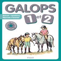 Livre d'équitation Galops 1 et 2 édition Vigot + questions/réponses - Vigot SANS GENRE