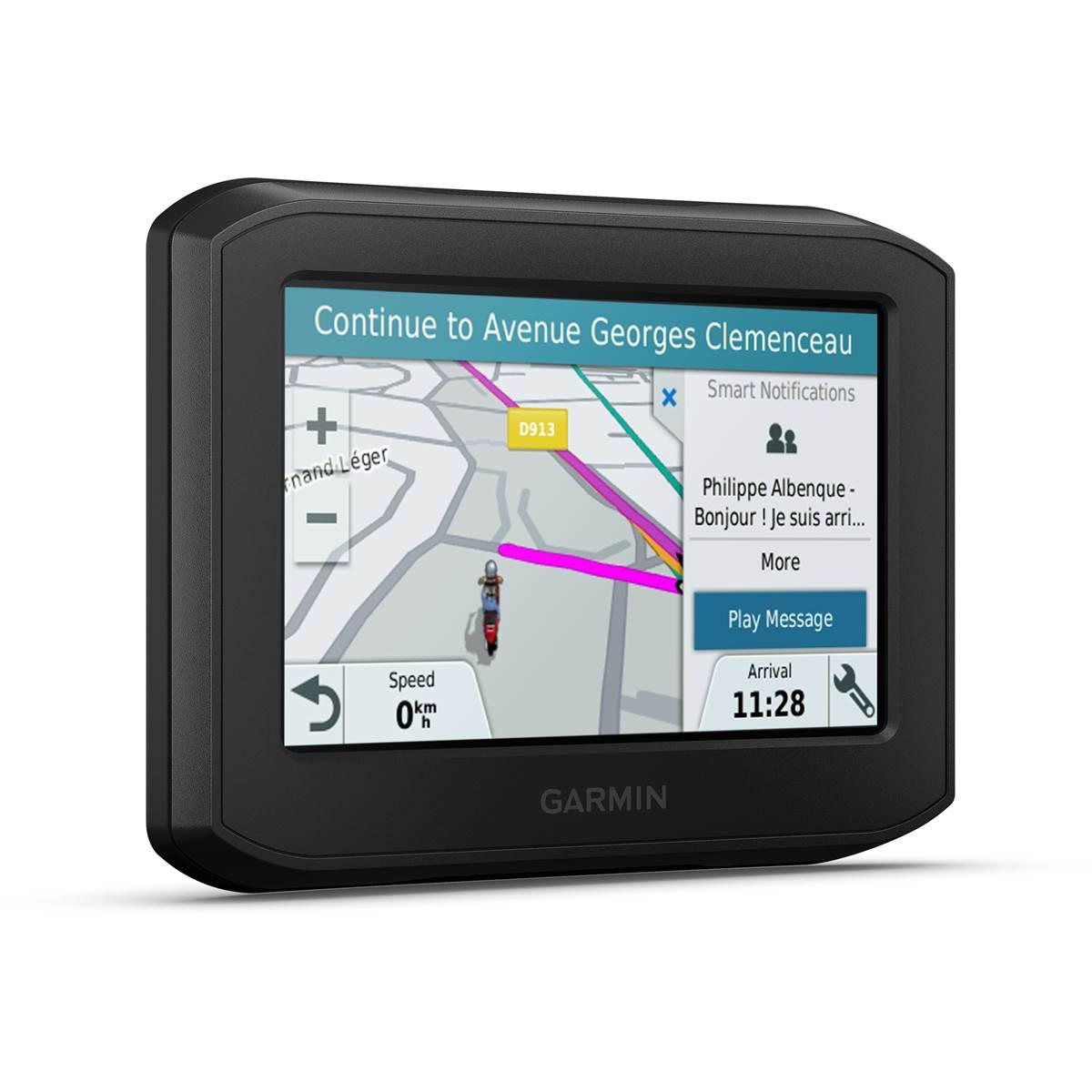 Garmin zumo 322   GPS Moto   322.32 pouces   Cartes Europe de l'Ouest 2322 pays    Cartes, Trafic, Zones de Danger à Vie   Appels Mains Libres   Contrôle de  ...