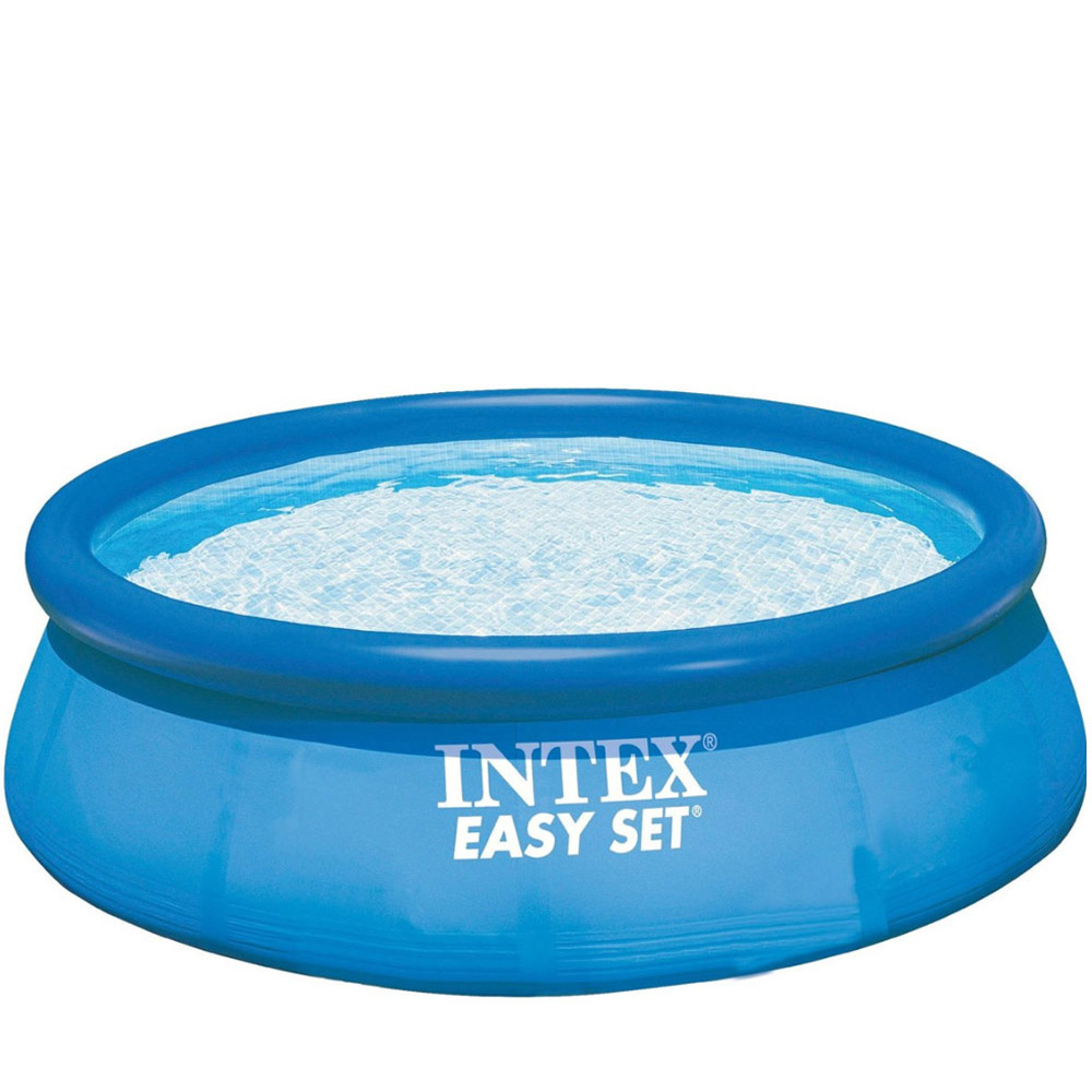 Piscine hors-sol autoportante intex easy set Ø8 x 8 cm